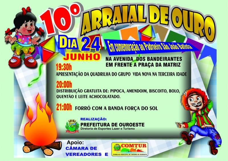 10º ARRAIAL DE OURO