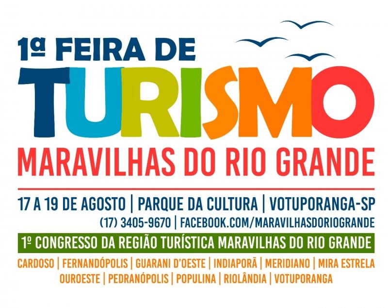 1ª FEIRA DE TURISMO - MARAVILHAS DO RIO GRANDE